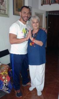 foto con M.Eugenia