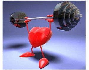 corazon sano y fuerte